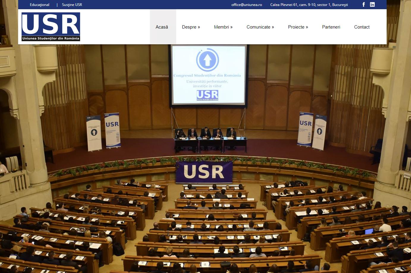 Uniunea Studenților din România (2017)